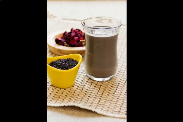 black sesame drink